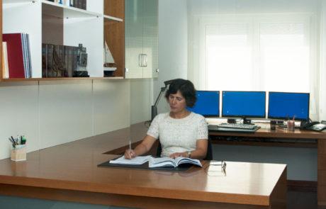 Oficina de Abella Procuradores, en Cambados
